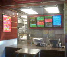 Cook Out interior